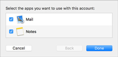 Setup FAST-MAIL.ORG email account on your Apple Mail 6