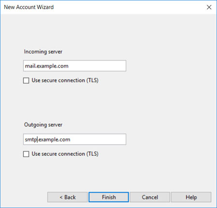 Setup T-COM.VZ email account on your Opera Mail Step 4