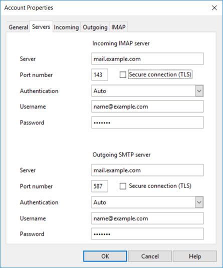 Setup AIRMAIL.NET email account on your Opera Mail Step 7